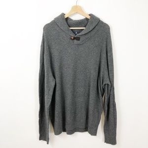 Hart Schaffner Marx Lambswool Toggle Sweater NWT